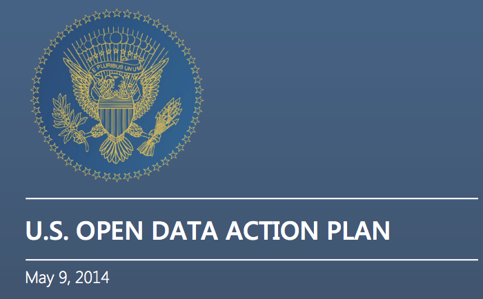 Uitsnede van 'U.S. Open Data Action Plan', CC0.